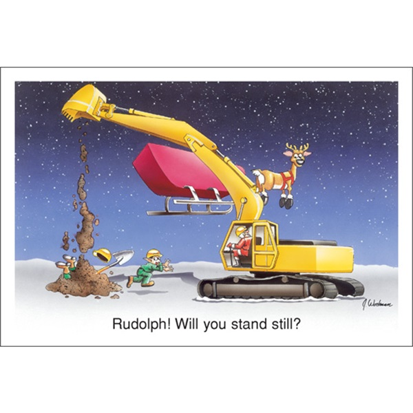 Rudolph Will You Stand Still