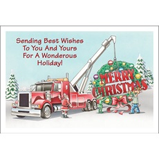 Towing Merry Christmas