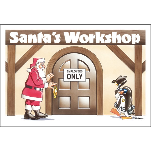 Santa's Workshop Employees Only