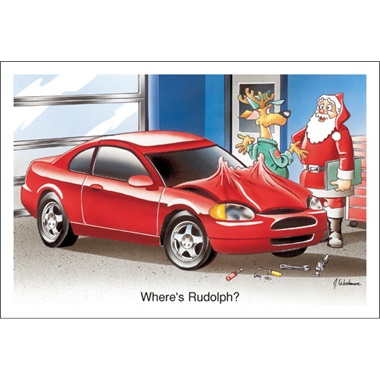 Rudolph's Under The Hood