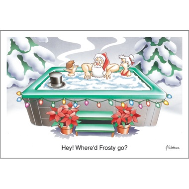 Wondering Where Frosty Went