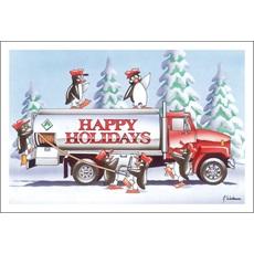 Happy Holidays Penguin Style