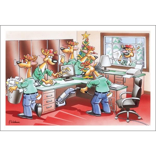 Reindeer Are Excellent Janitors