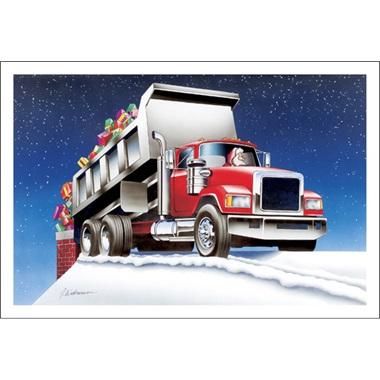 Santa's Dumping Presents