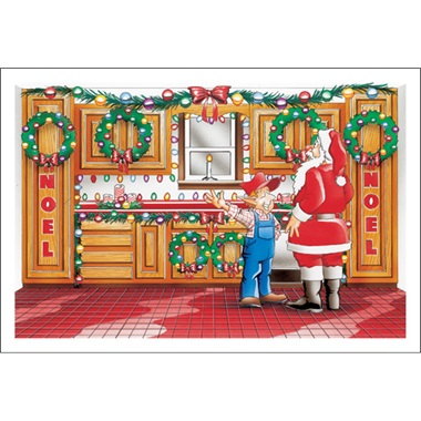 Kitchen Cabinets For Santa