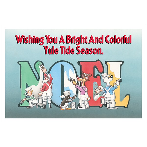 Colorful Yule Tide