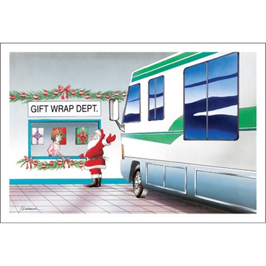 Motor Coach Gift Wrapping