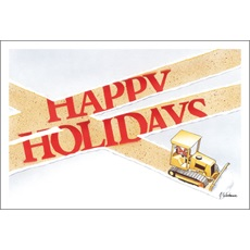 Happy Holidays Snow Plowing
