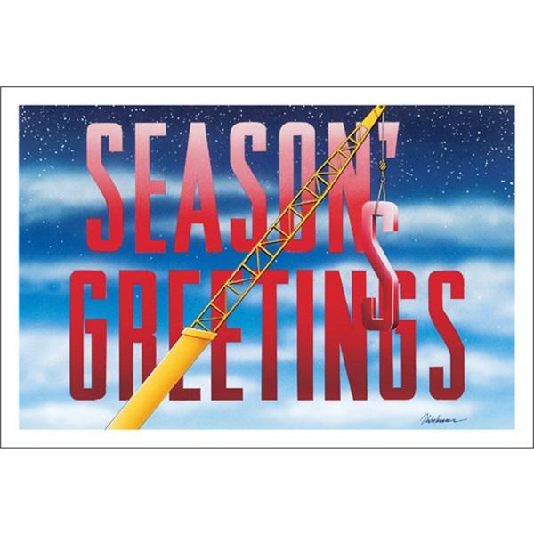 Season's Greetings Crane