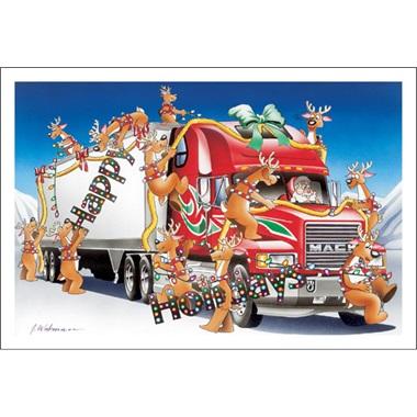 Happy Holidays Hauler