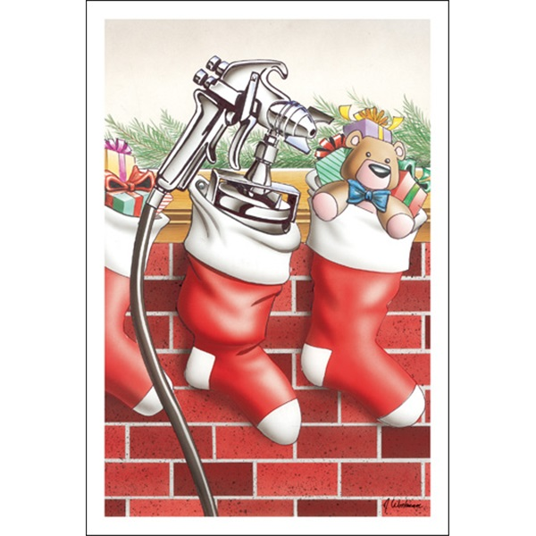 Paint Sprayers In The Stocking