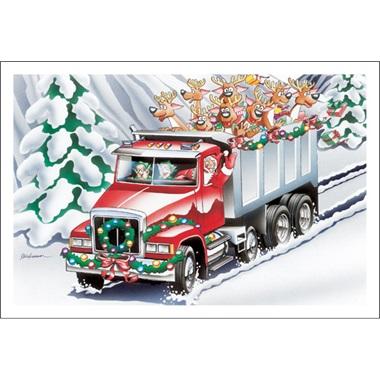 Dump Trucking Along