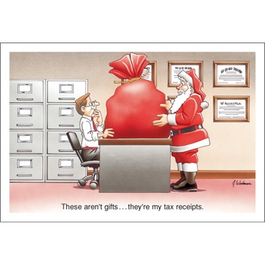 These Aren't Gifts… They're My Tax Receipts