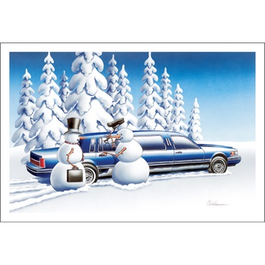 Mr. Frosty Here's Your Limo Sir