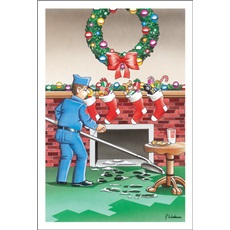 Santa Is Messy