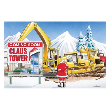 Claus Tower Coming Soon