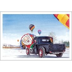 Santa's A Hot Air Balloon