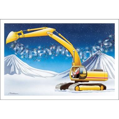 Excavating Happy Holidays