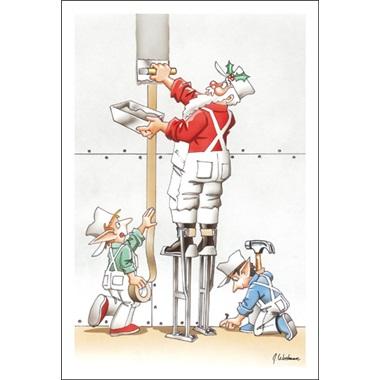 Santa On The Stilts