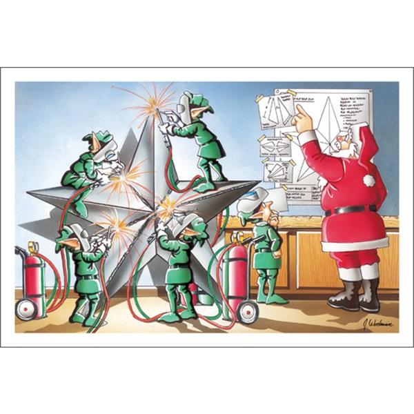 Welding The Christmas Star