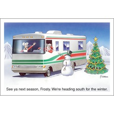 See You Next Season Frosty We Are Heading South