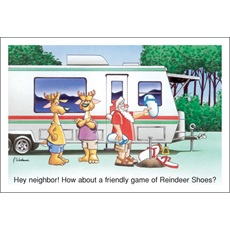 Hey Neighbor How About A Friendly Game Of Reindeer