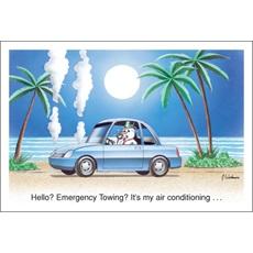 Hello? Emergency Tow?