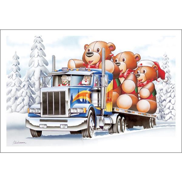 Teddy Bears On The Road