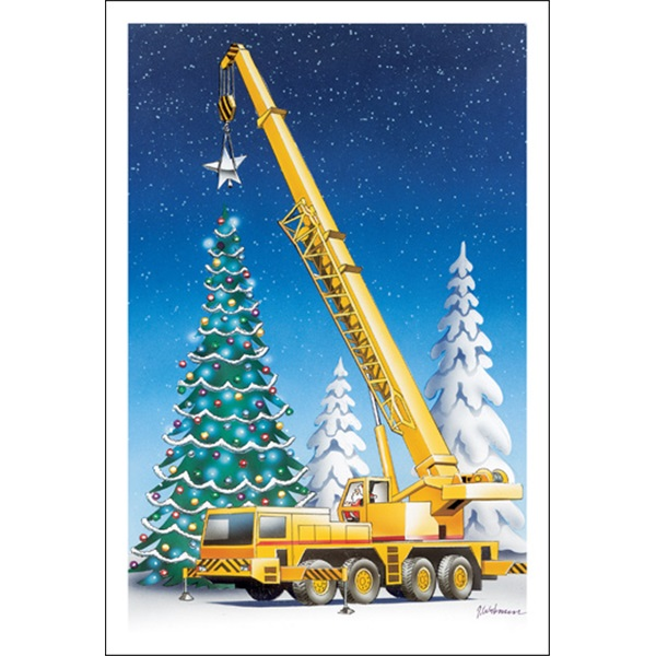 And The Crane Adds The Star