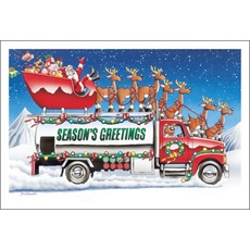 Season's Greetings Fuel Truck