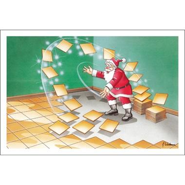 Santa's Magic Installs Tile