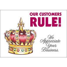 Our Customers Rule
