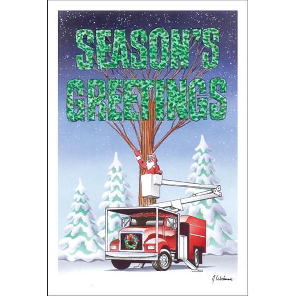 Season's Greeting Bucket Lift
